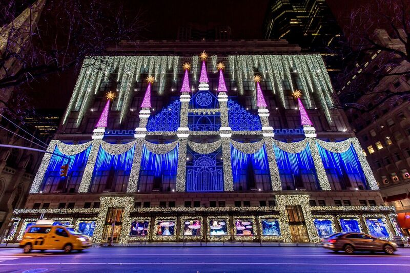 Chris Werner Uses Iluminarc In Saks Fifth Avenue Holiday Show Ideas